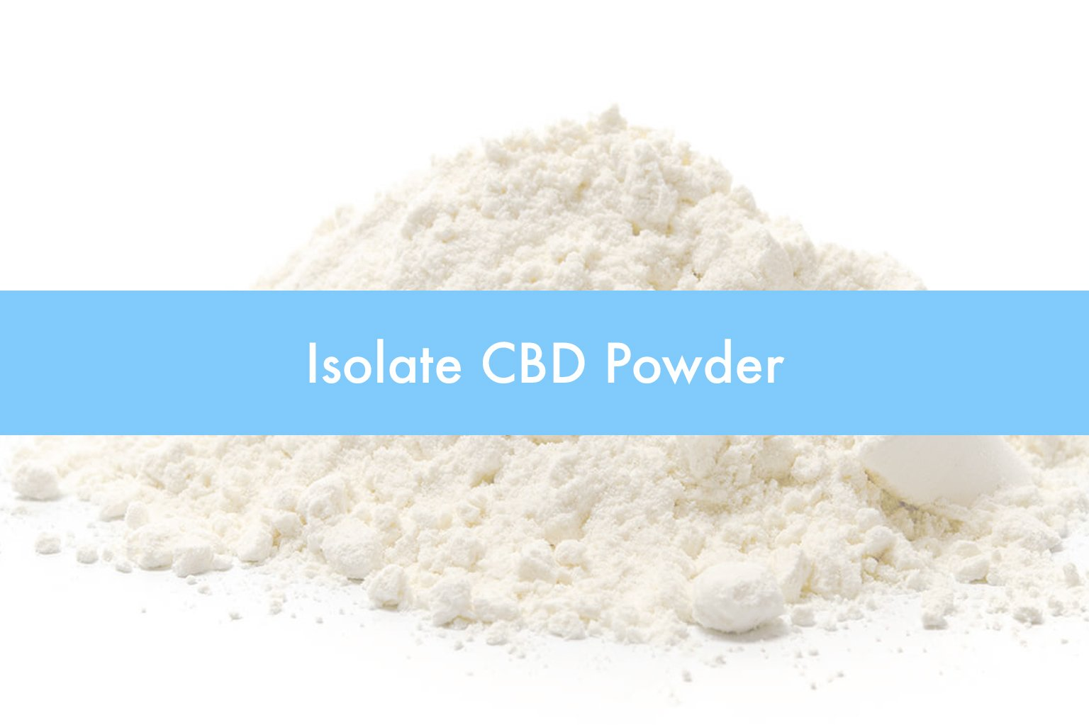 Using Soothe CBD Isolate Powder