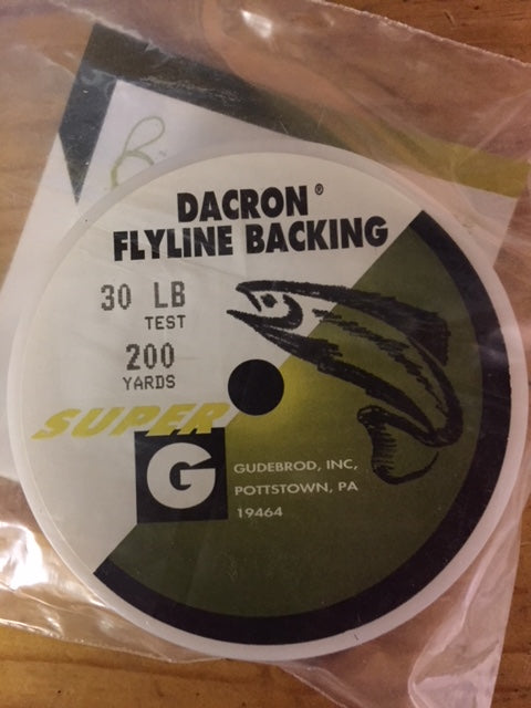 Super G Dacron Fly Backing - 200 yd