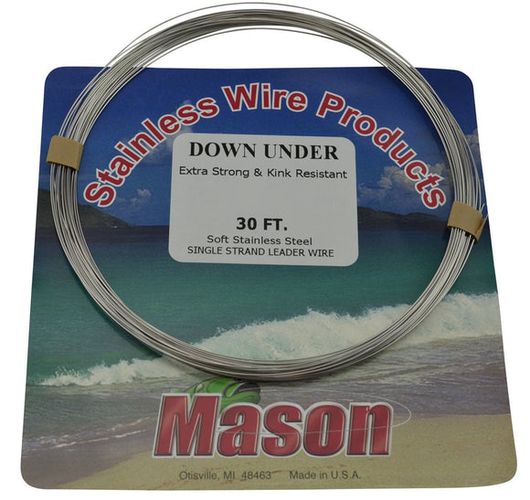 Mason Down Under Trolling Wire - 30 ft.