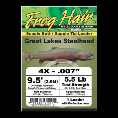Frog Hair - Great Lakes Steelhead Leaders
