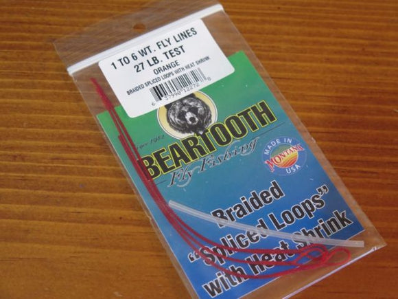 Beartooth Braided 'Splice Loops' with Heat Shrink