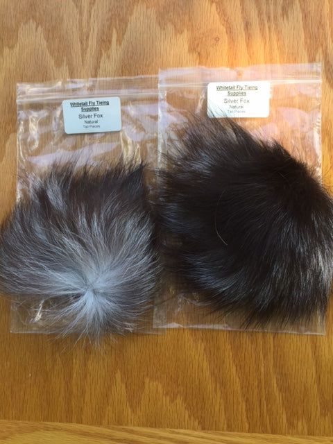 Fox, Silver Tail Pieces