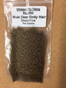 Mule Deer Body Hair - (Short / Fine for Caddis)