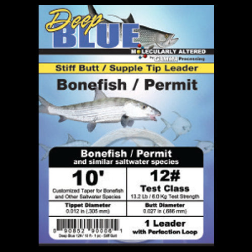 Deep Blue Leader - Bonefish/Permit Tapered