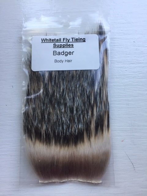 Badger Body Hair