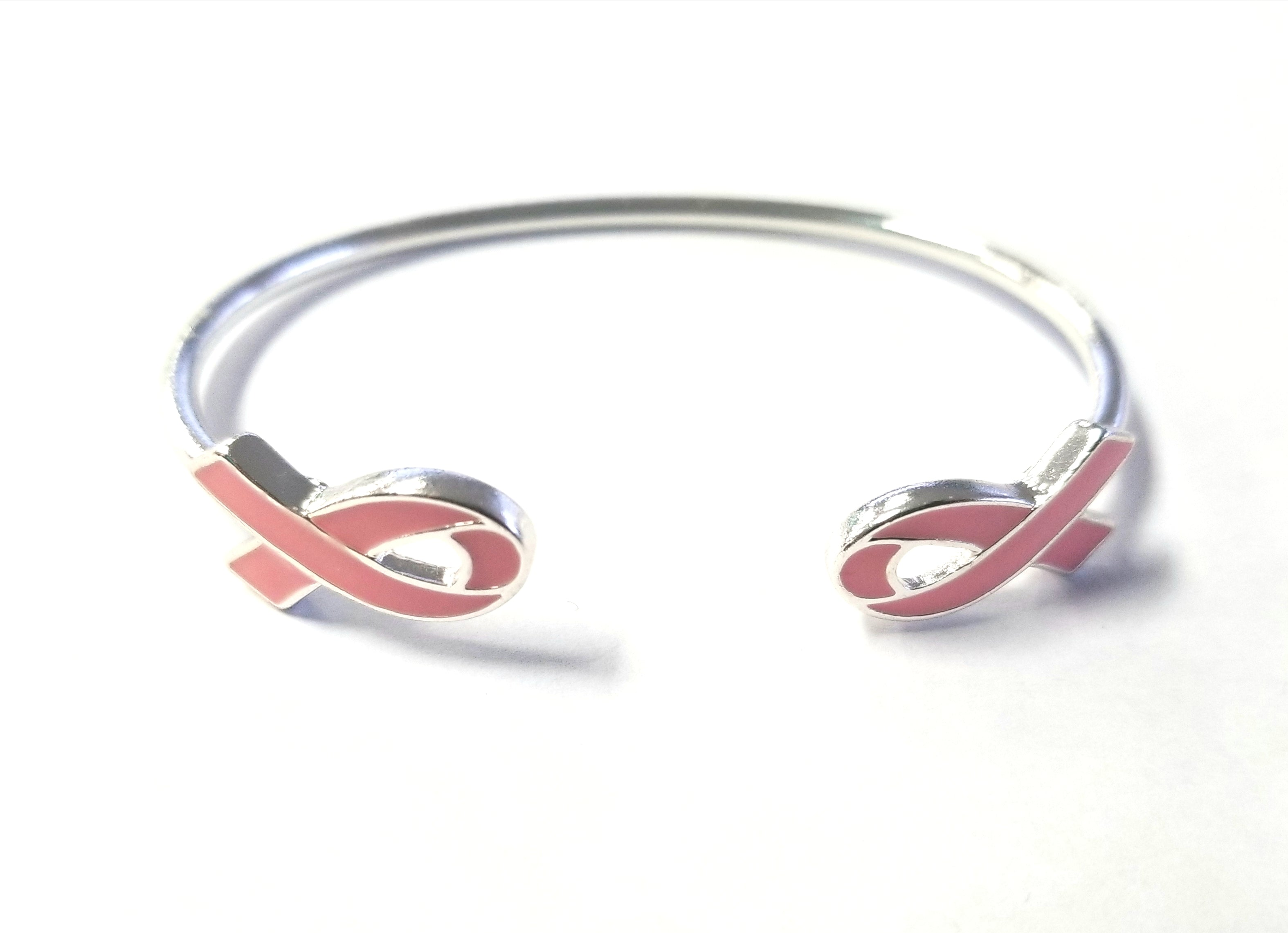Breast Cancer Ribbon Cuff