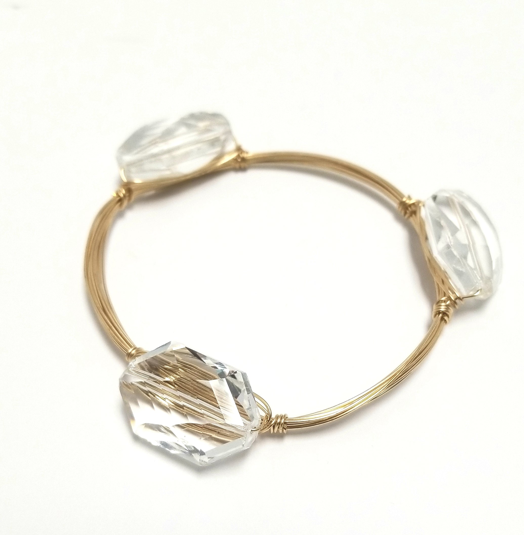 Crystal Bangle  (Small)