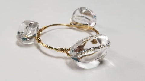 Crystal Bangle (Large)