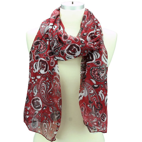Gamecocks Paisley Scarf