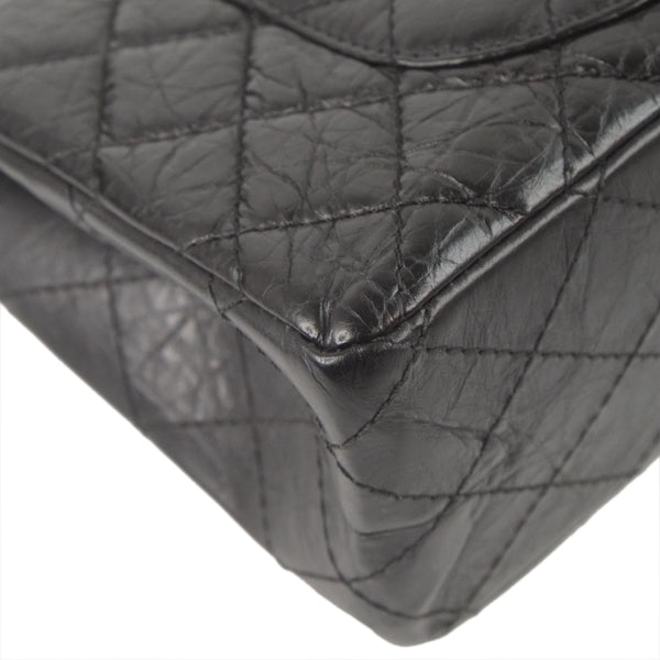 Chanel Reissue 227 silver stripe