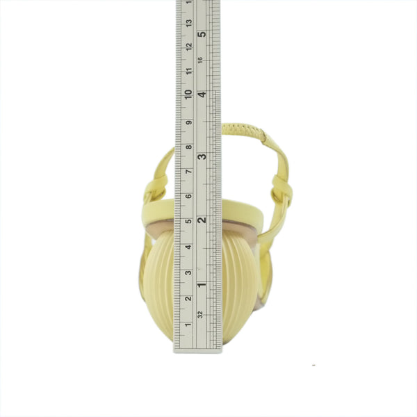 Chanel camellia flower toe ing thong sandals gold size 37