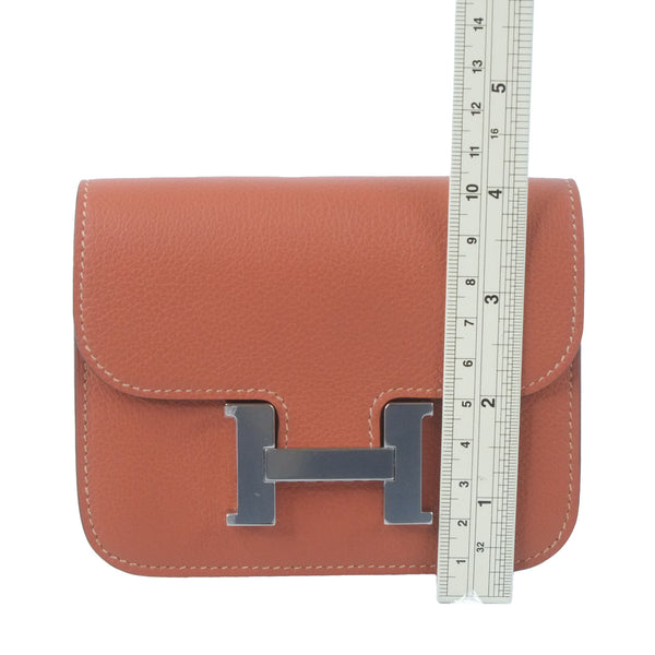Hermes Toolbox20 argile inside orange