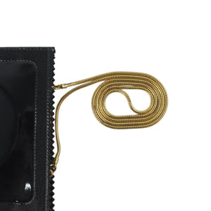 YSL Downtown beige patent
