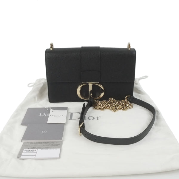 Chanel Coco handle 9.5 all black