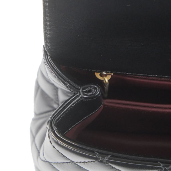 Chanel 8 With handle Metallic Gold
