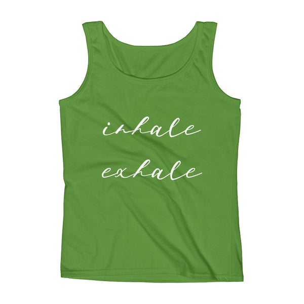 Inhale Exhale Ladies' Tank