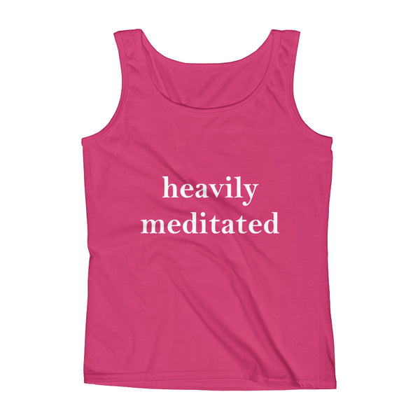 Heavily Meditated Ladies' Tank