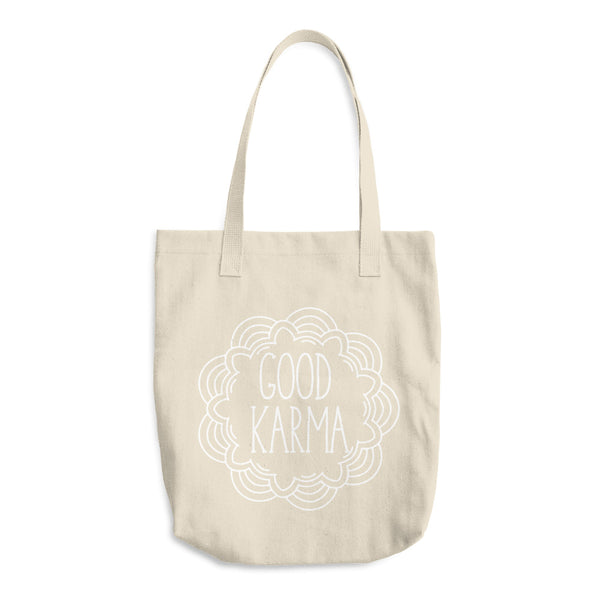Good Karma Cotton Tote Bag