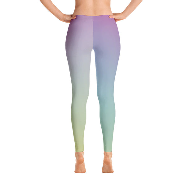 Purple - Green Leggings