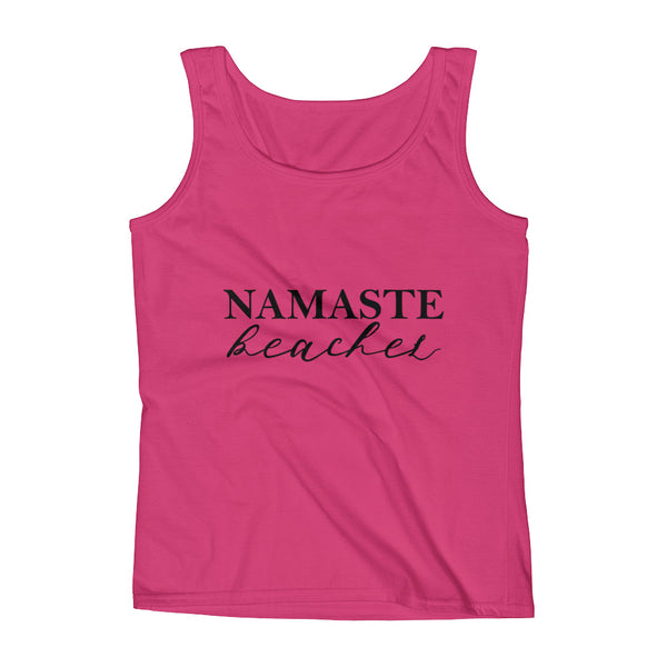 Namaste Beaches Ladies' Tank