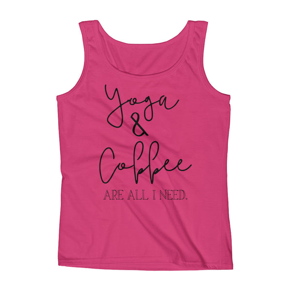 Yoga & Coffee Ladies' Tank