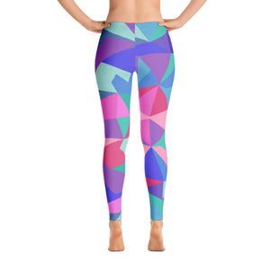 Multicolor Patterned Leggings