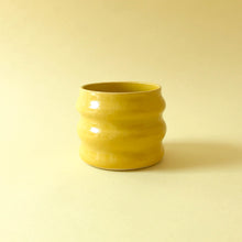 Wavy Planter - Yellow