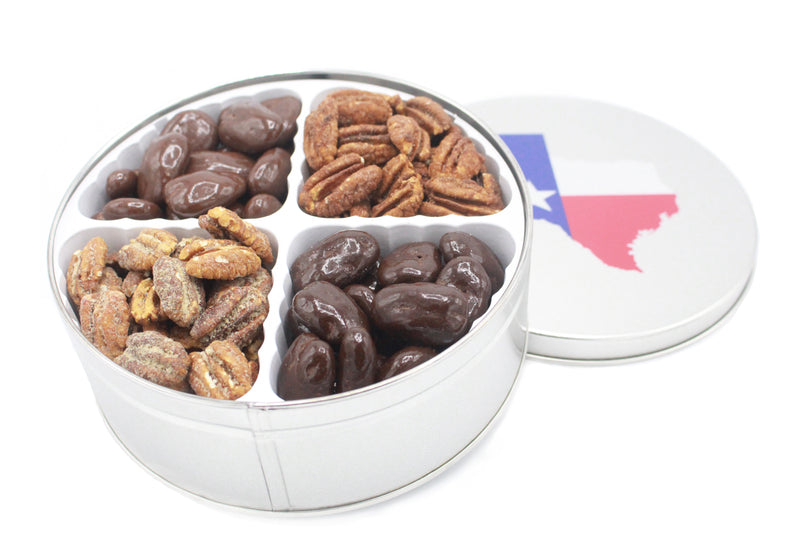 Medium Keepsake Pecan Gift Tin