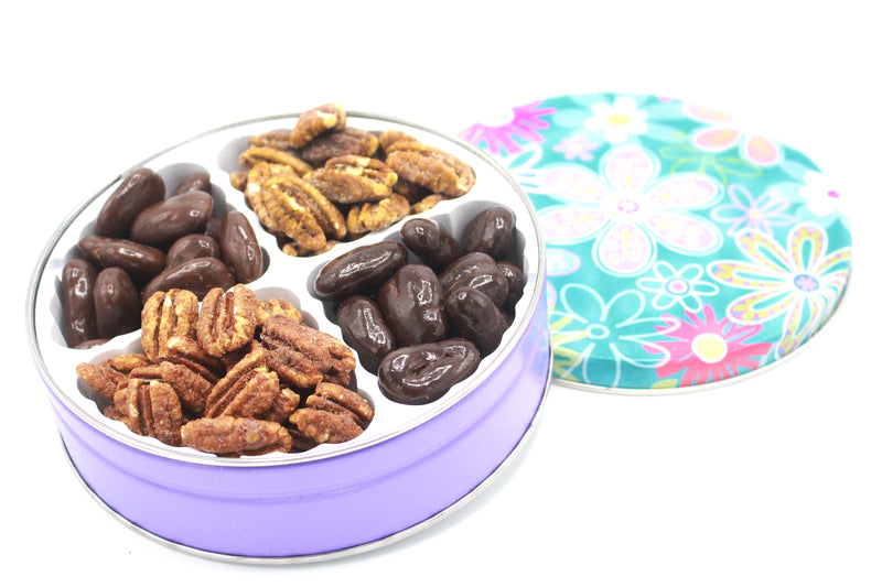 Keepsake Pecan Gift Tin