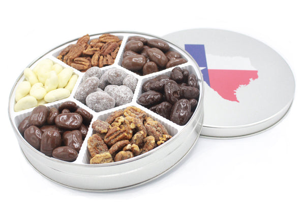The Magnificent Seven Pecan Gift Tin