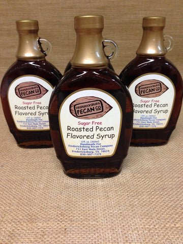 Roasted Pecan Flavored Syrup, Sugar Free