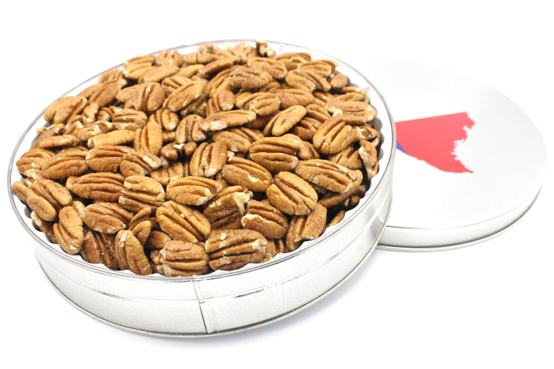 Pecan Halves in Texas Gift Tin