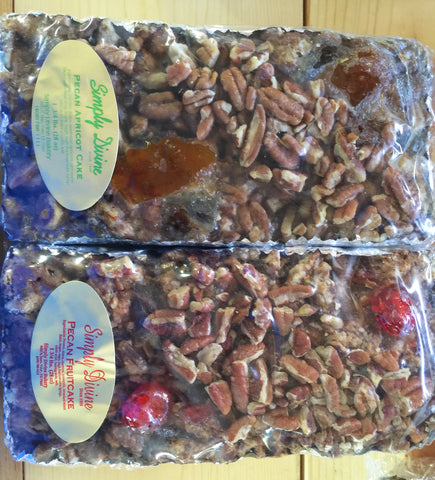 Pecan Fruitcake--not available