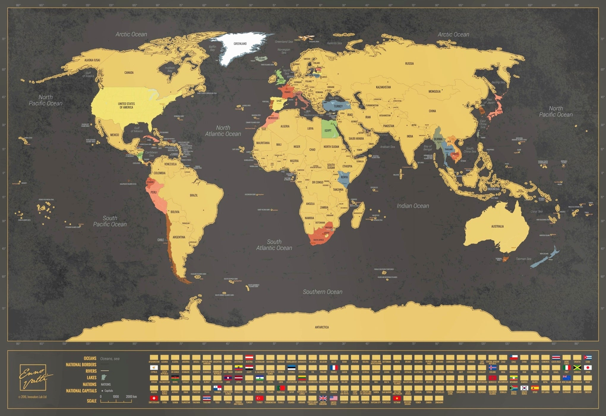 Enno vatti scratch off world map with flags black ennovatti enno vatti map dimensions publicscrutiny Image collections
