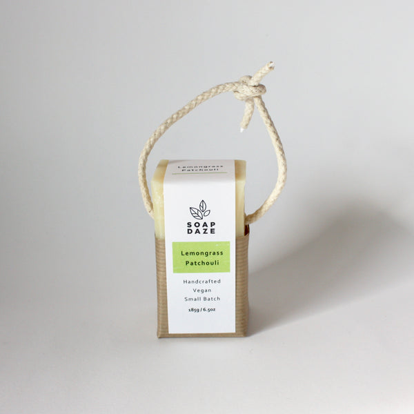 Soap on a Rope - Lemongrass Patchouli