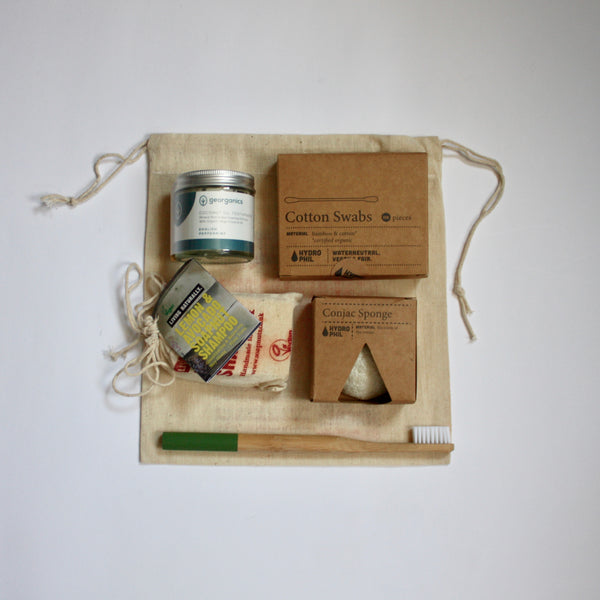 Zero Waste Toiletries Set