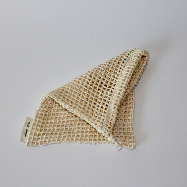 Organic Cotton Produce Net Bag Small