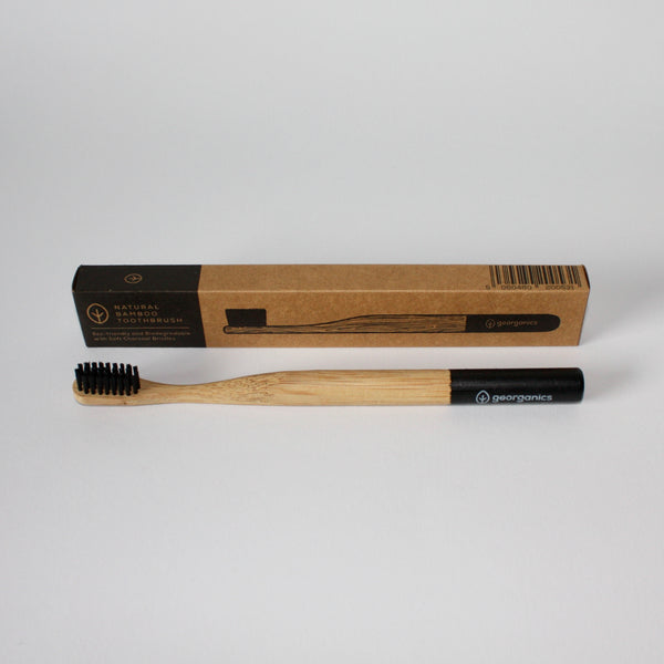 Bamboo Charcoal Toothbrush - Soft