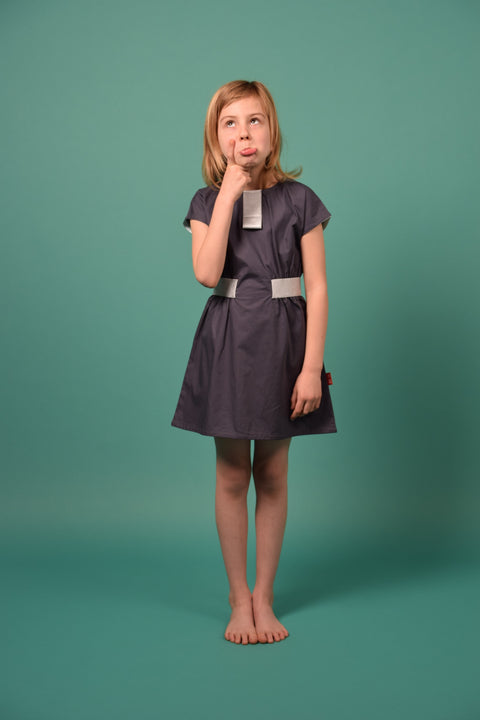 HANA SUMMER DRESS GREY