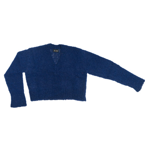 KAEMON CROPPED JUMPER BLUE
