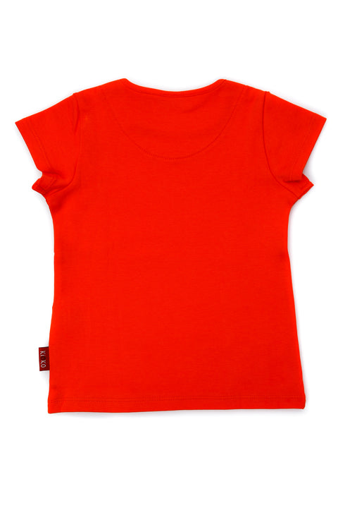 FUYU ORANGE T-SHIRT FOR BOYS
