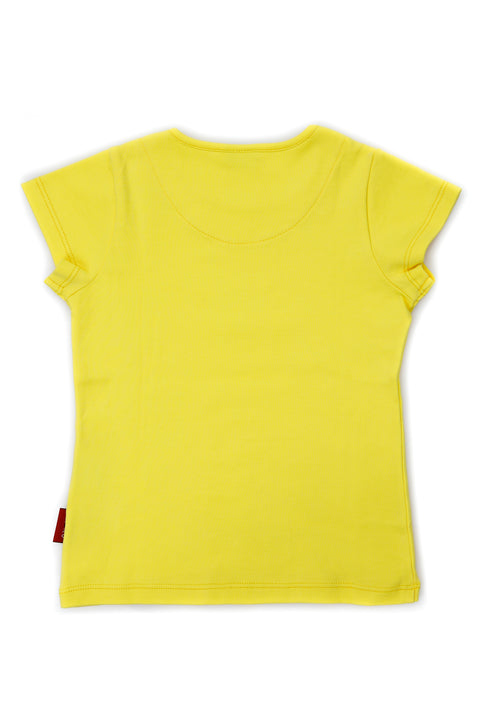 FUYU BRIGHT YELLOW T-SHIRT FOR BOYS