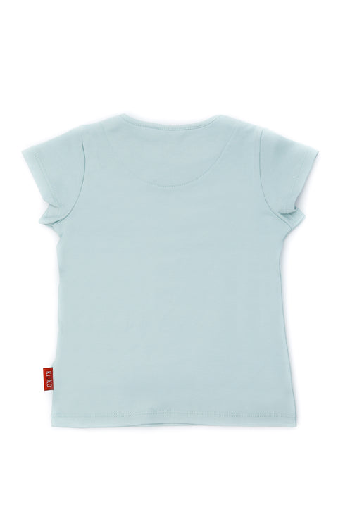 FUYU CLOUD BLUE T-SHIRT FOR BOYS