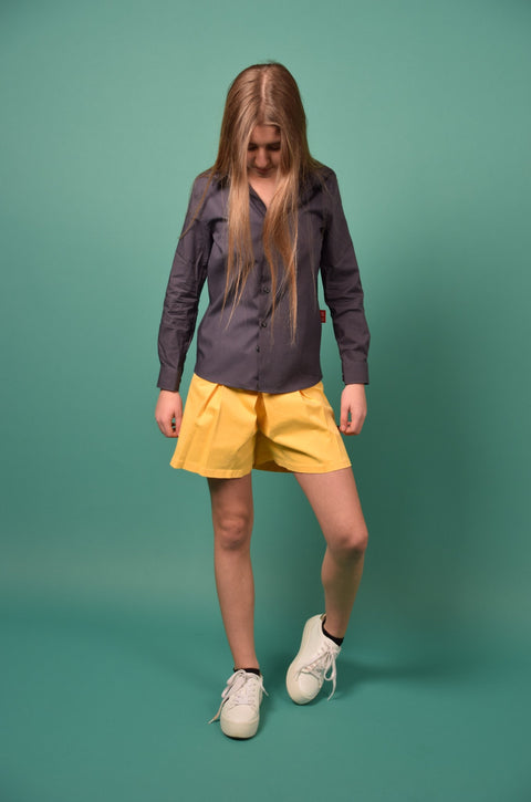 PAPO SHORTS AMBER YELLOW