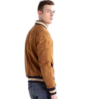 Linch suede Leather Jacket MJ04-Men Leather Jackets-[leather jackets for men]-[genuine leather jackets for men]-[brown leather jackets for men]-[black leather jackets for men]-ShopperFiesta