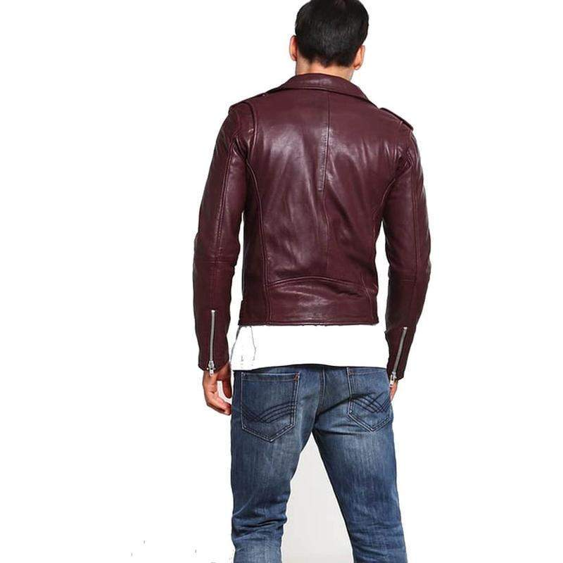 Regner Motorbike Genuine Leather Jacket MJ14-Men Leather Jackets-[leather jackets for men]-[genuine leather jackets for men]-[brown leather jackets for men]-[black leather jackets for men]-ShopperFiesta
