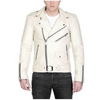 Rollison White Leather Jacket MJ10-Men Leather Jackets-[leather jackets for men]-[genuine leather jackets for men]-[brown leather jackets for men]-[black leather jackets for men]-ShopperFiesta