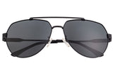 Sixty One Costa Polarized Sunglasses - Black/Black SIXS111BK