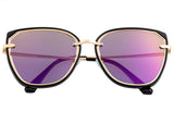 Bertha Rylee Polarized Sunglasses - Black/Purple BRSBR041PU