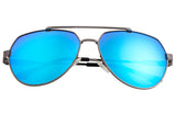 Sixty One Costa Polarized Sunglasses - Gunmetal/Blue SIXS111BL